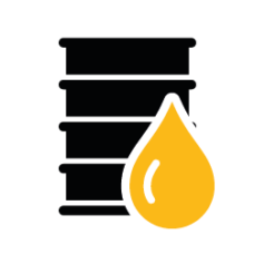 Afgewerkte olie afvoeren
