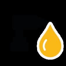 Boor- slijp walsolie afvoeren