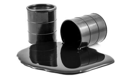 Het opslaan van afgewerkte olie